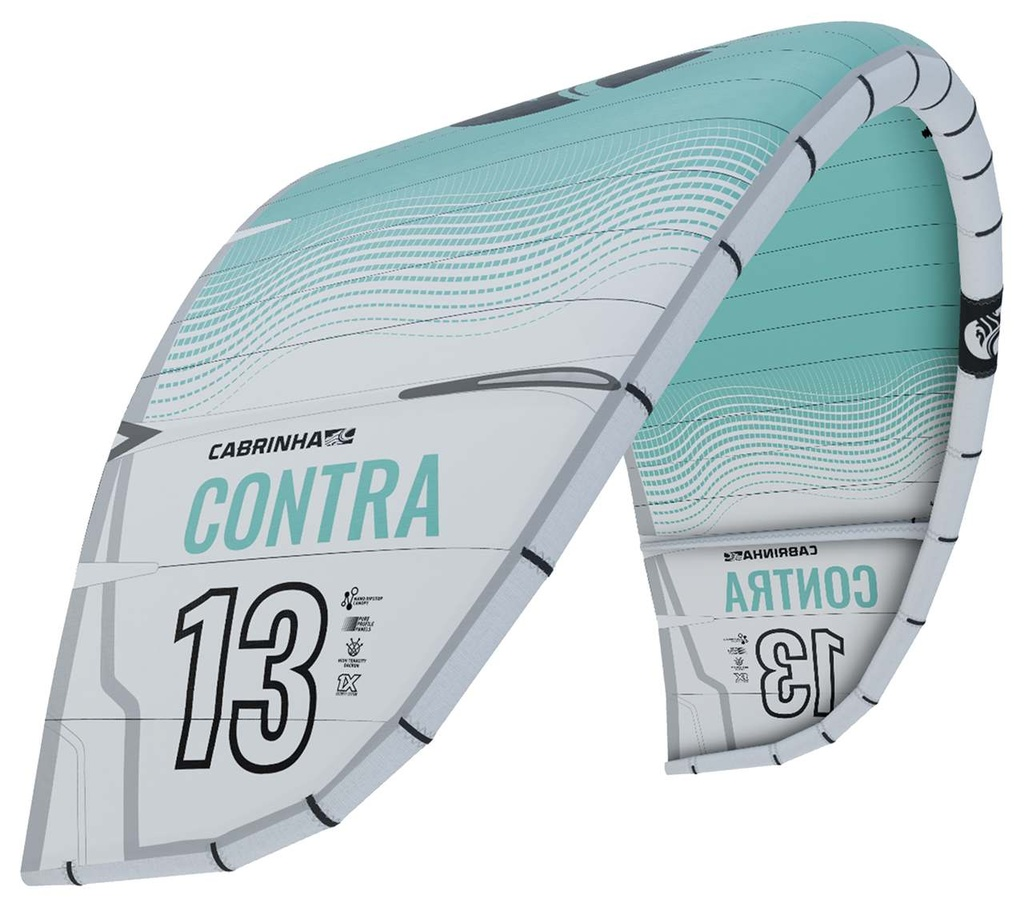 CONTRA 3S KITE ONLY 2021 WHITE/CYAN
