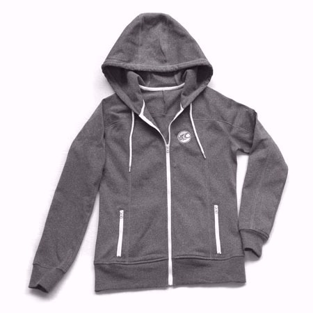 [KM6WAHOOD] CABRINHA SLIM FIT FRONT ZIP HOODIE WOMAN